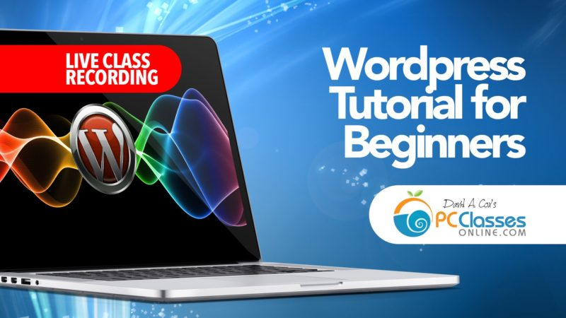 Wordpress Tutorial for Beginners 2015 - All Free Video