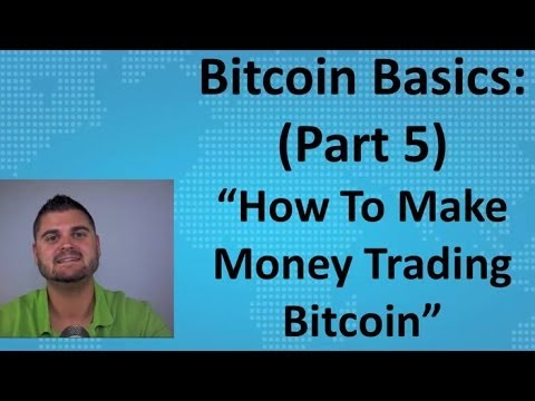 Basics of bitcoin trading