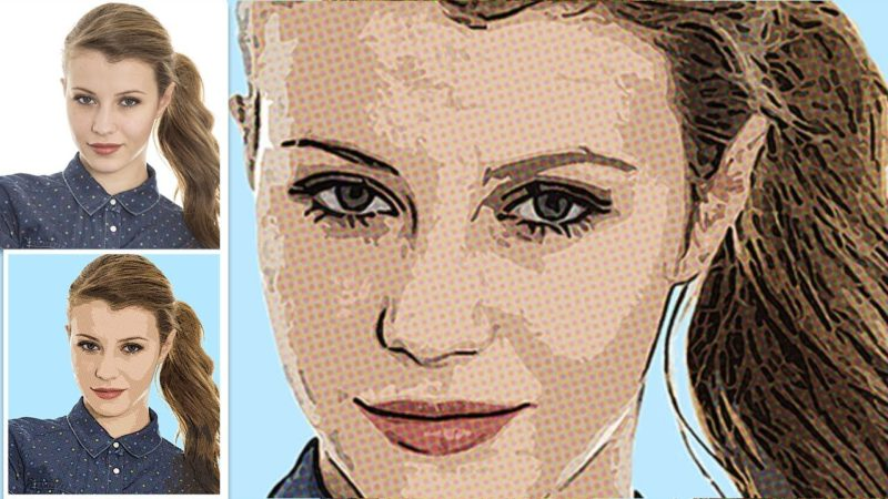 Comic Book Cartoon Effect Photoshop Tutorial Easy
