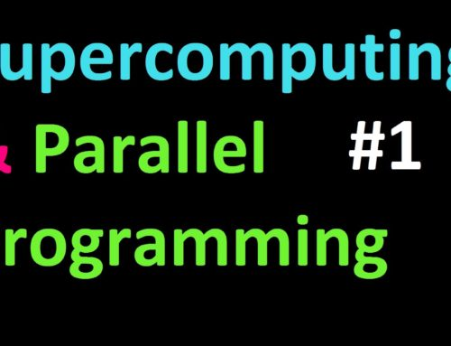 Getting MPI4py and MPI tutorial-  Supercomputing and Parallel Programming in Python and MPI 1