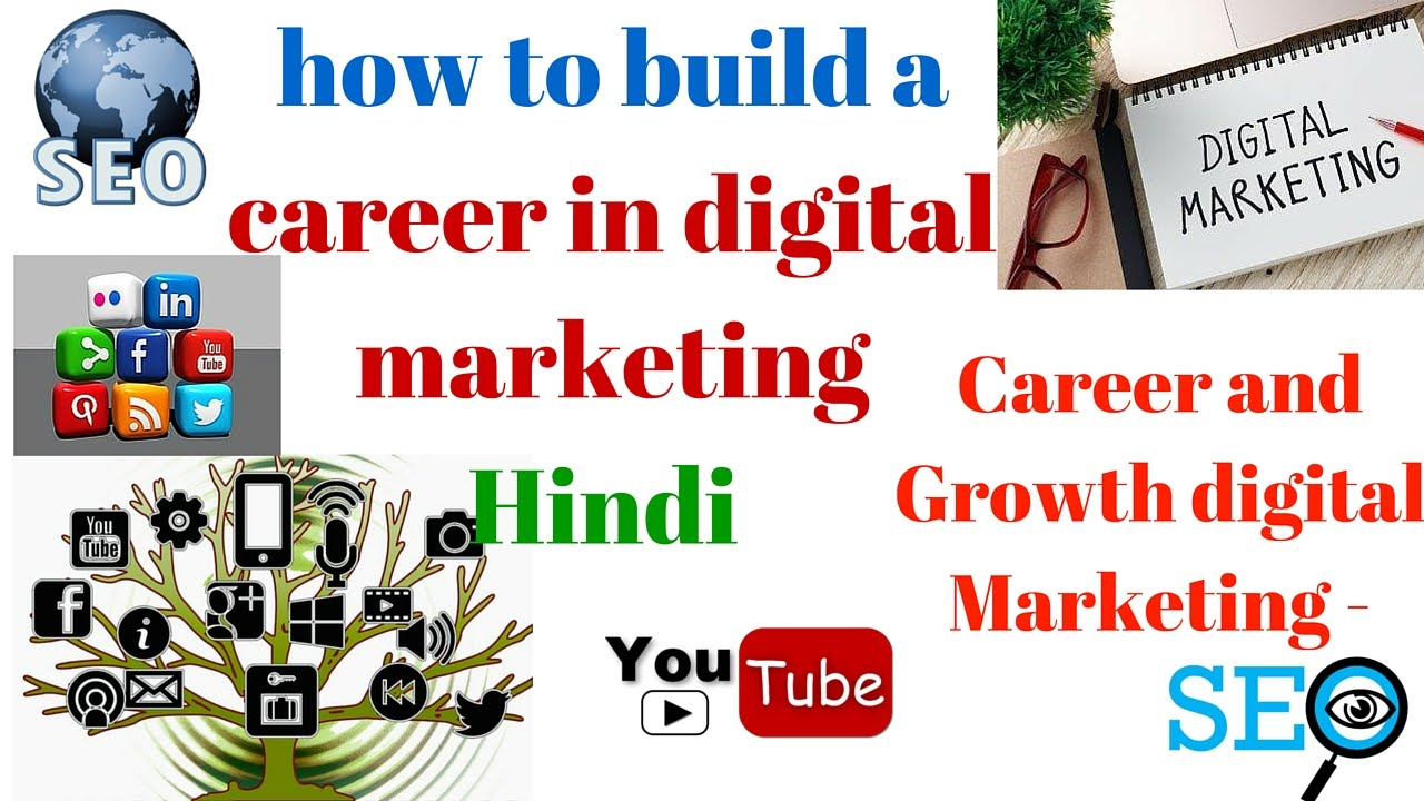 How to build a career in digital marketing career and for Marketing to builders