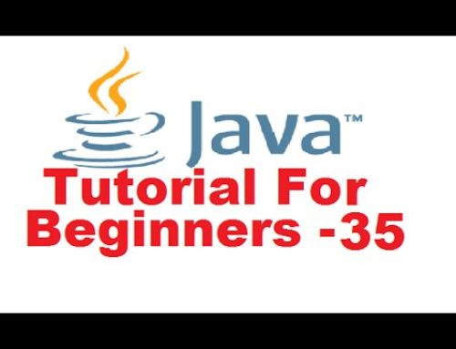 Java Tutorial For Beginners 35 – HashSet in Java