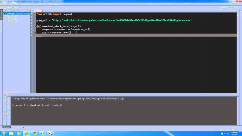 Python Programming Tutorial - 24 - Downloading Files from