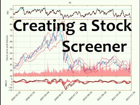 Python Programming Tutorial - How to Make a Stock Screener ...