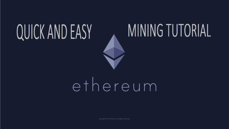 Cryptocurrency mining tutorial wow week 17 nfl betting picks