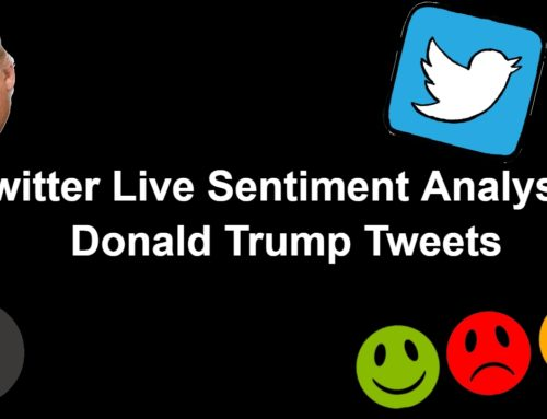 Twitter live sentiment Analysis Tutorial in Python – Tweepy and TextBlob
