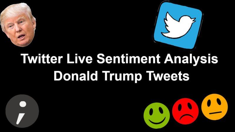 Twitter live sentiment Analysis Tutorial in Python - Tweepy