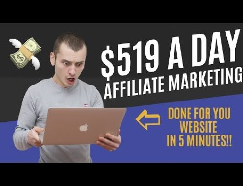 Affiliate marketing for Beginners Tutorial 2019 (Done-For-You Website in under 5 Minutes)