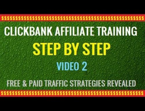 Clickbank Affiliate Marketing Training Video 2
