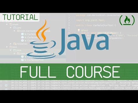 Learn Java 8 – Full Tutorial for Beginners