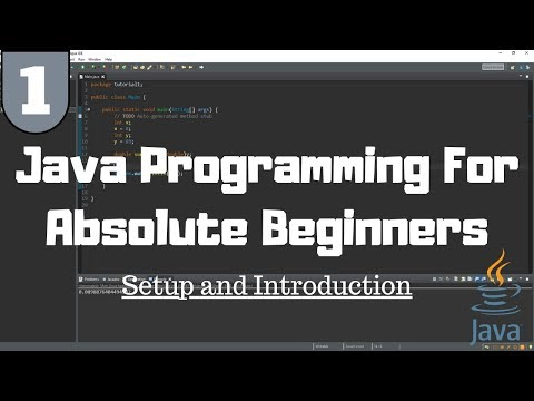 Java Tutorial for Beginners #1 – Introduction
