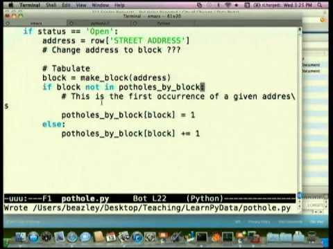 Learn Python Through Public Data Hacking