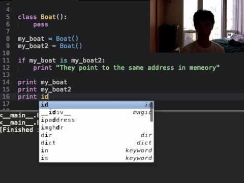 Python Tutorial – 33 – Classes [1/11] introduction