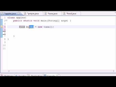 Java Programming Tutorial – 55 – Intoduction to Polymorphism