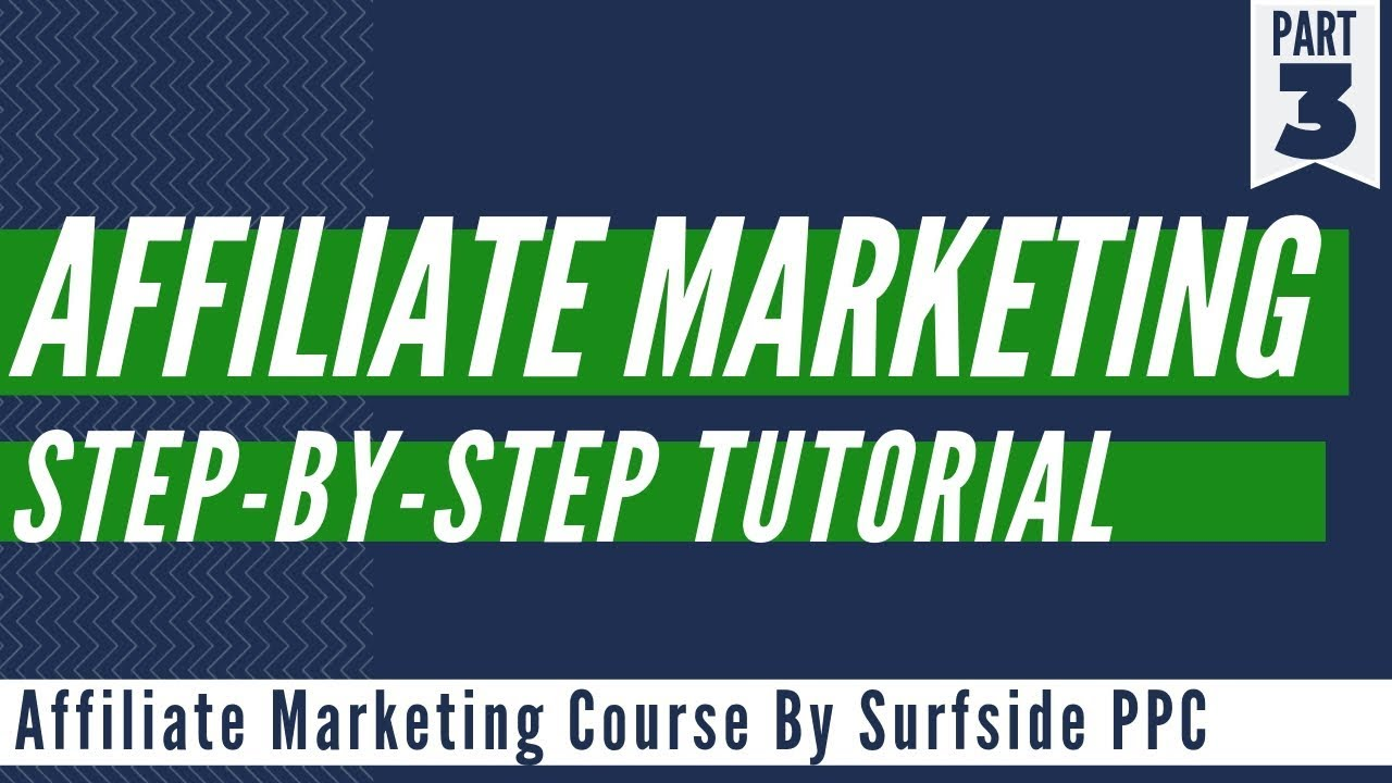 Affiliate Marketing For Beginners Step-By-Step Tutorial 2019
