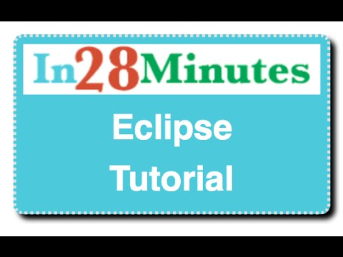 Eclipse Java Tutorial For Beginners  with  Maven & Git  – New Version