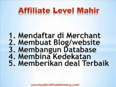 Tutorial Belajar Affiliate Marketing dari Dasar sampai Tingkat Mahir.3gp