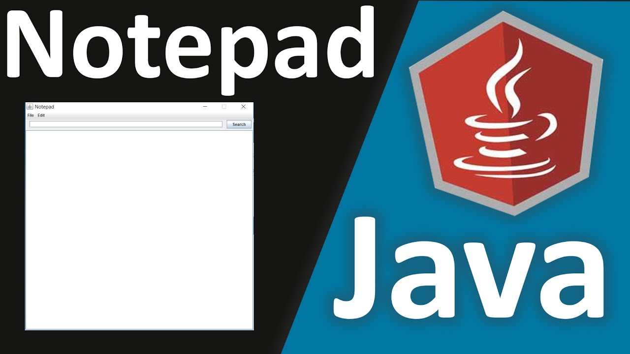 Java Tutorial How To Make Notepad Using Netbeans and Java