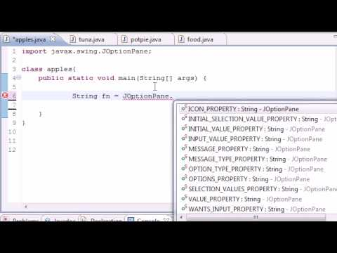 Java Programming Tutorial – 50 – Graphical User Interface GUI