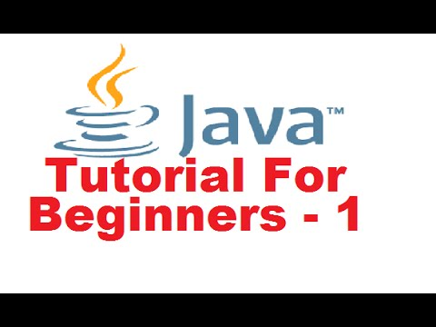 Java Tutorial For Beginners 1 – Introduction and Installing the java (JDK) Step by Step Tutorial