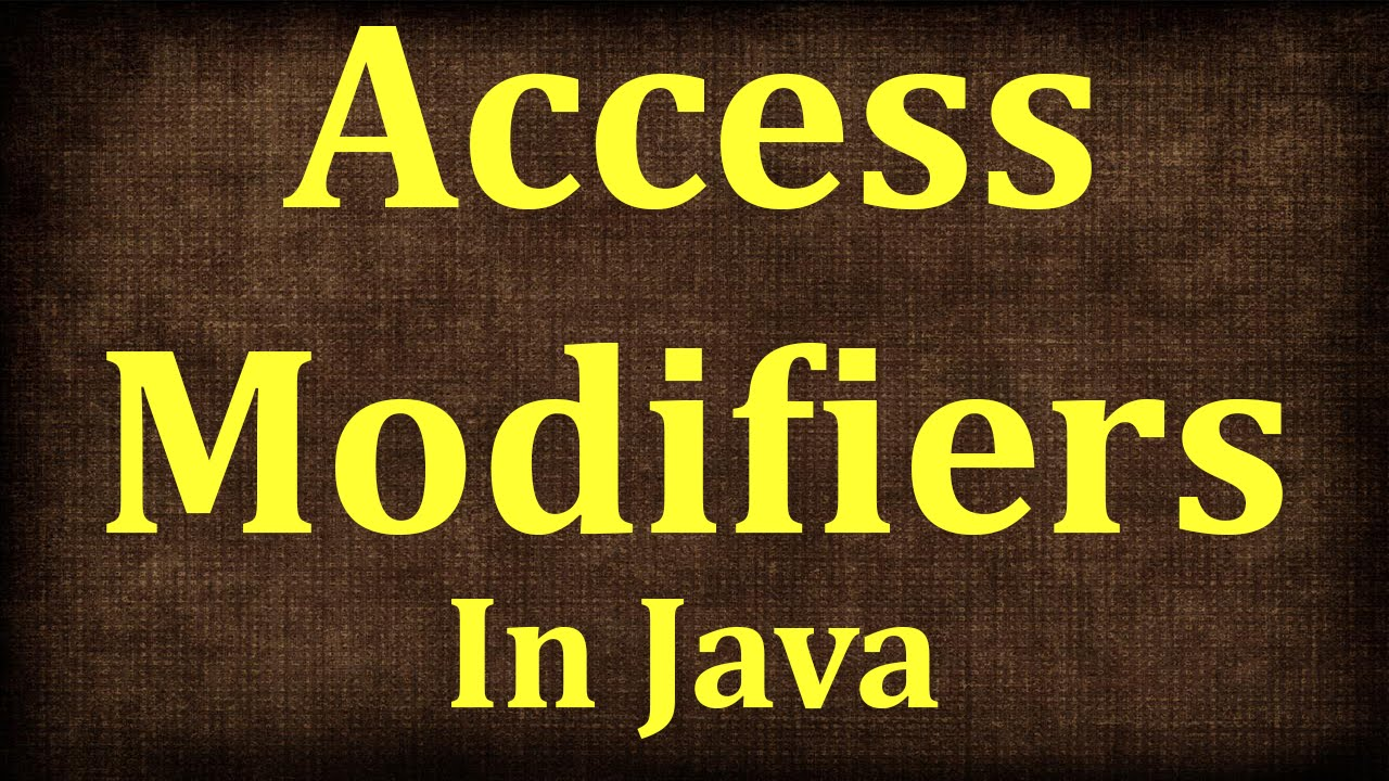 Java Tutorial # 10 | Access Modifiers in Java -Public, protected, private and default | JAVA9S.com