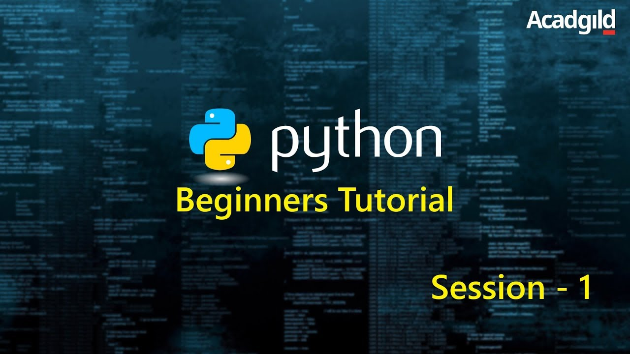 Python Tutorial for Beginners Part 1 | Python Programming Tutorial | Python Basics