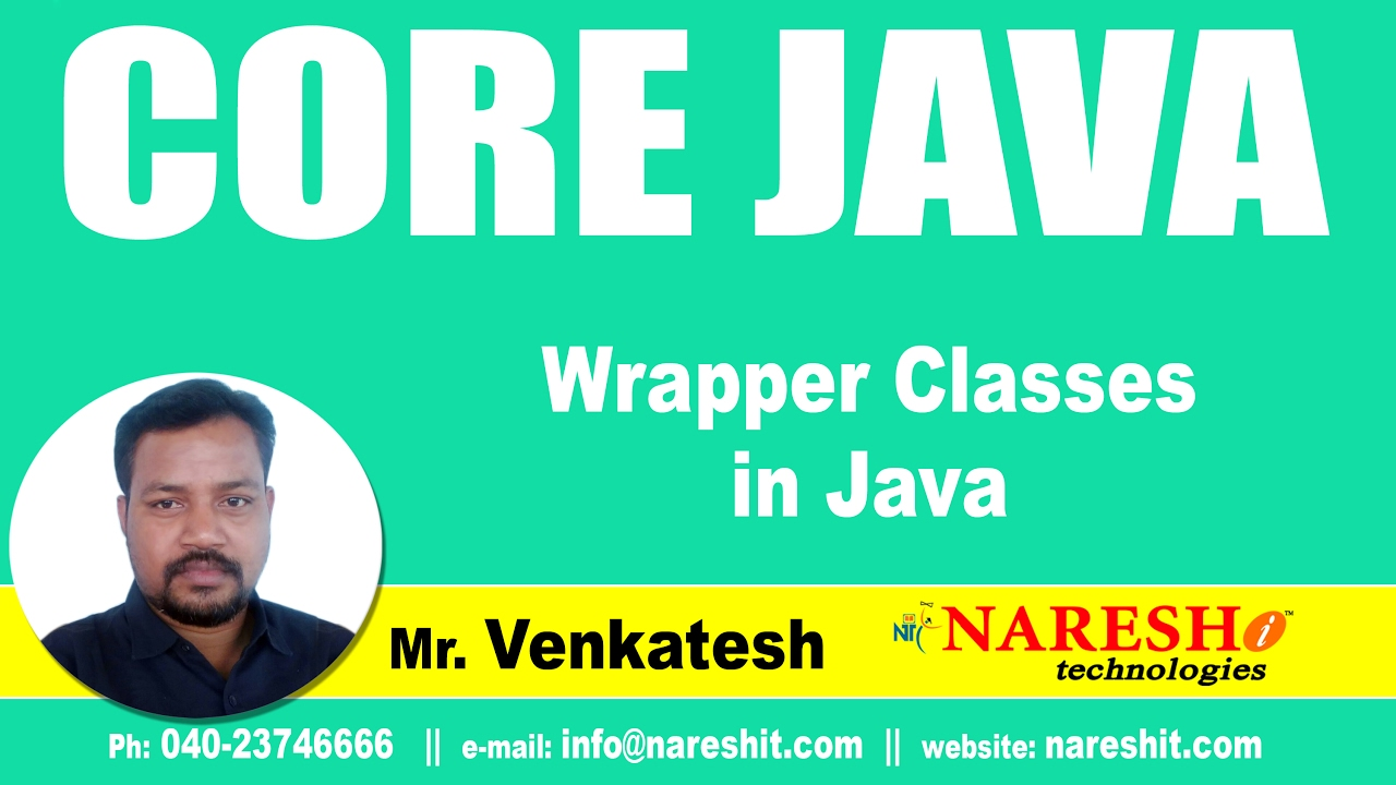 Wrapper Classes in Java | Core Java Tutorial