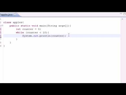 Java Programming Tutorial – 13 – While Loop