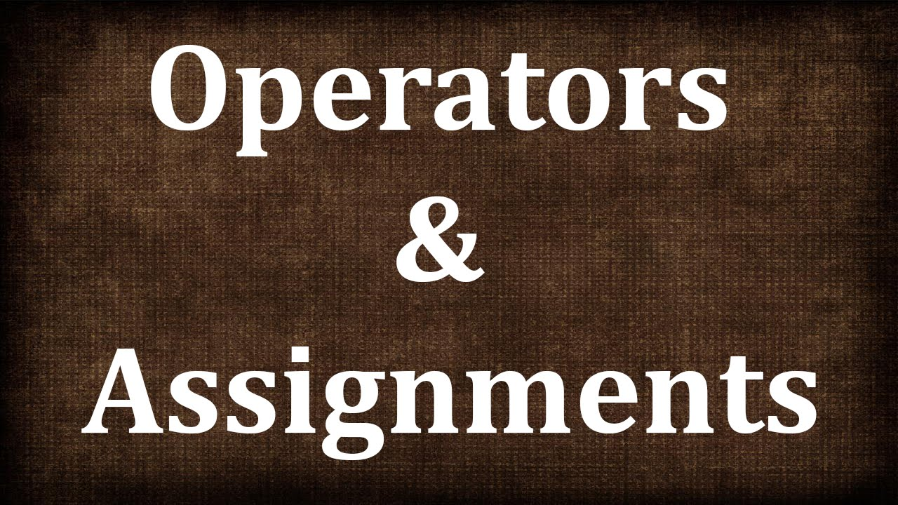 Java Tutorial # 5 | Operators and Assignments in Java | JAVA9S.com