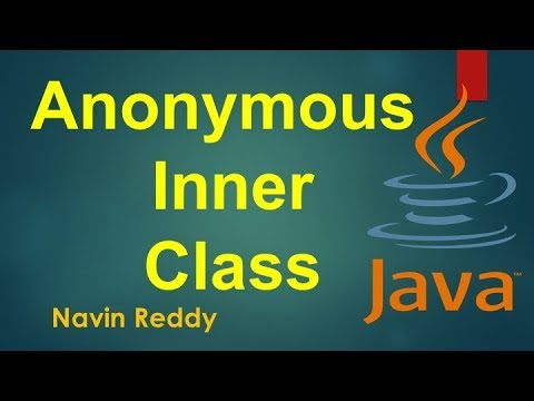 #7.3 Java Tutorial | Anonymous Inner class