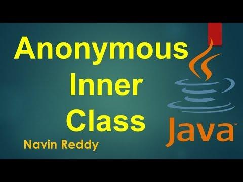 #7.3 Java Tutorial | Anonymous Inner class