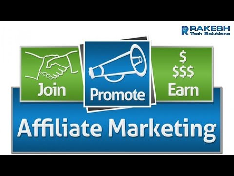 Affiliate Marketing Tutorial for Beginners 2017 | online Earning for Affiliate Marketing