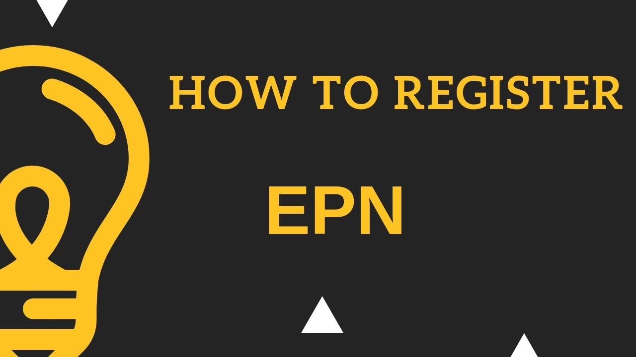 Affiliate marketing bangla tutorial 2018 – How to Register EPN