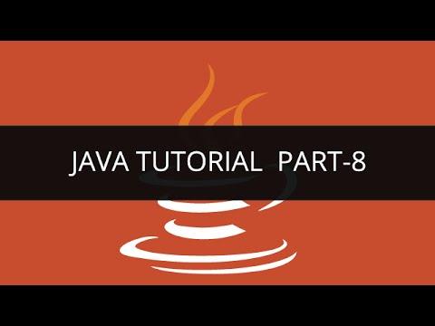 Java Tutorial – 8 | Edureka