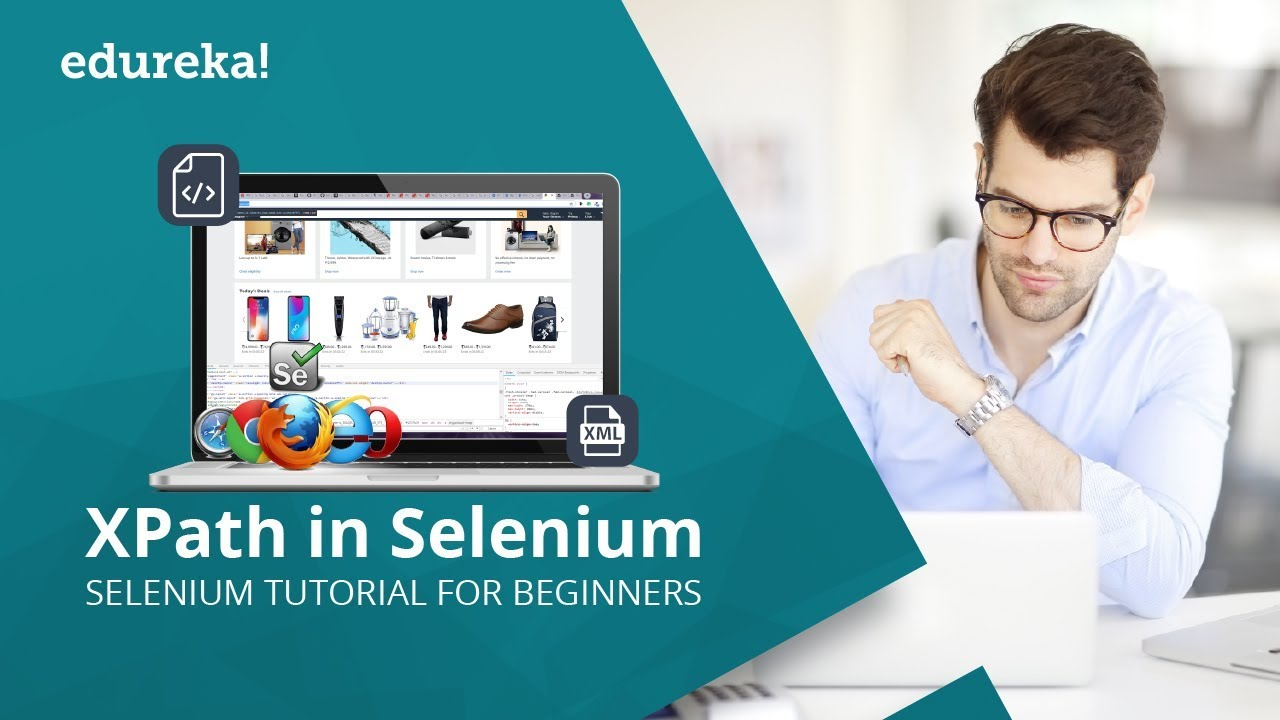 Xpath in Selenium | Selenium Xpath Tutorial | Selenium Xpath Examples | Selenium Training | Edureka