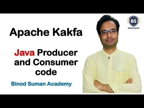Kafka Tutorial | Java Producer and Consumer code | Java with Apache Kafka