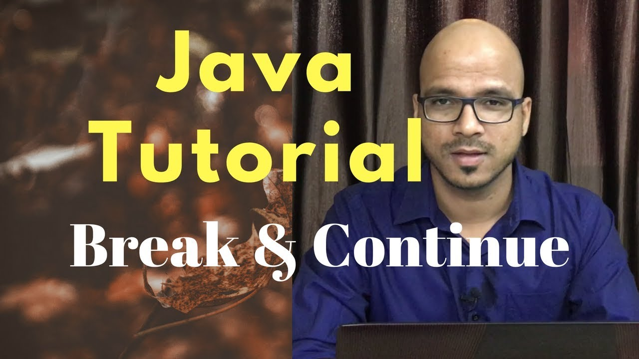 #3.5 Java Tutorial | Break and Continue
