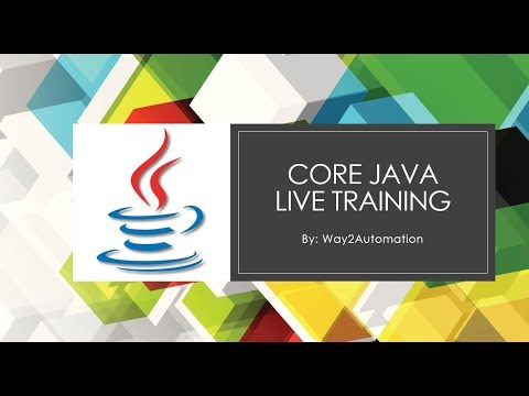 Core Java Tutorial – Core Java Day 4   Garbage Collection, Object Creation, Data Types, String