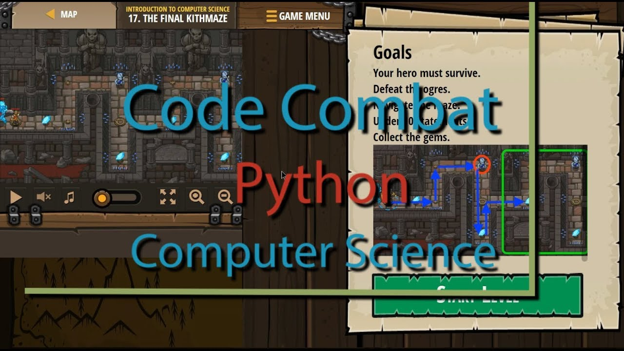 CodeCombat The Final Kithmaze – Level 17 Python Tutorial with Solution