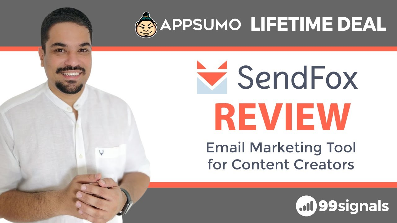 SendFox Review & Tutorial – Email Marketing Software for Beginners (AppSumo Lifetime Deal)