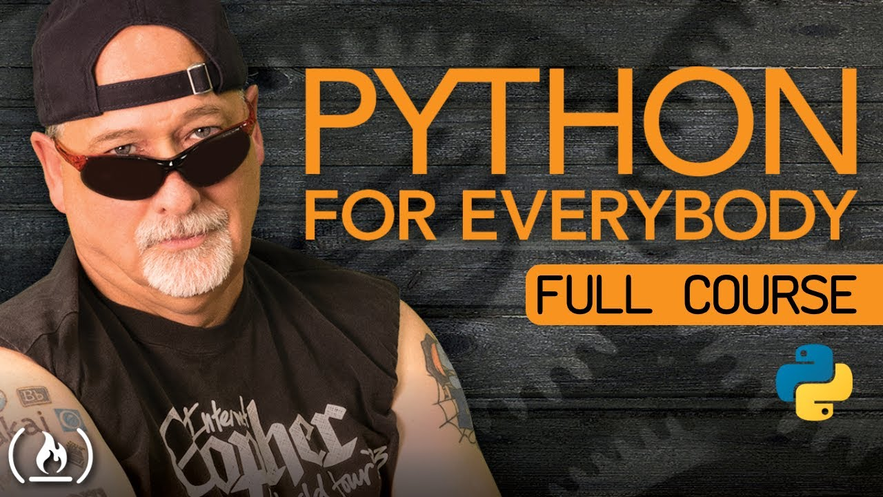 Python for Everybody – Full Course with Dr. Chuck
