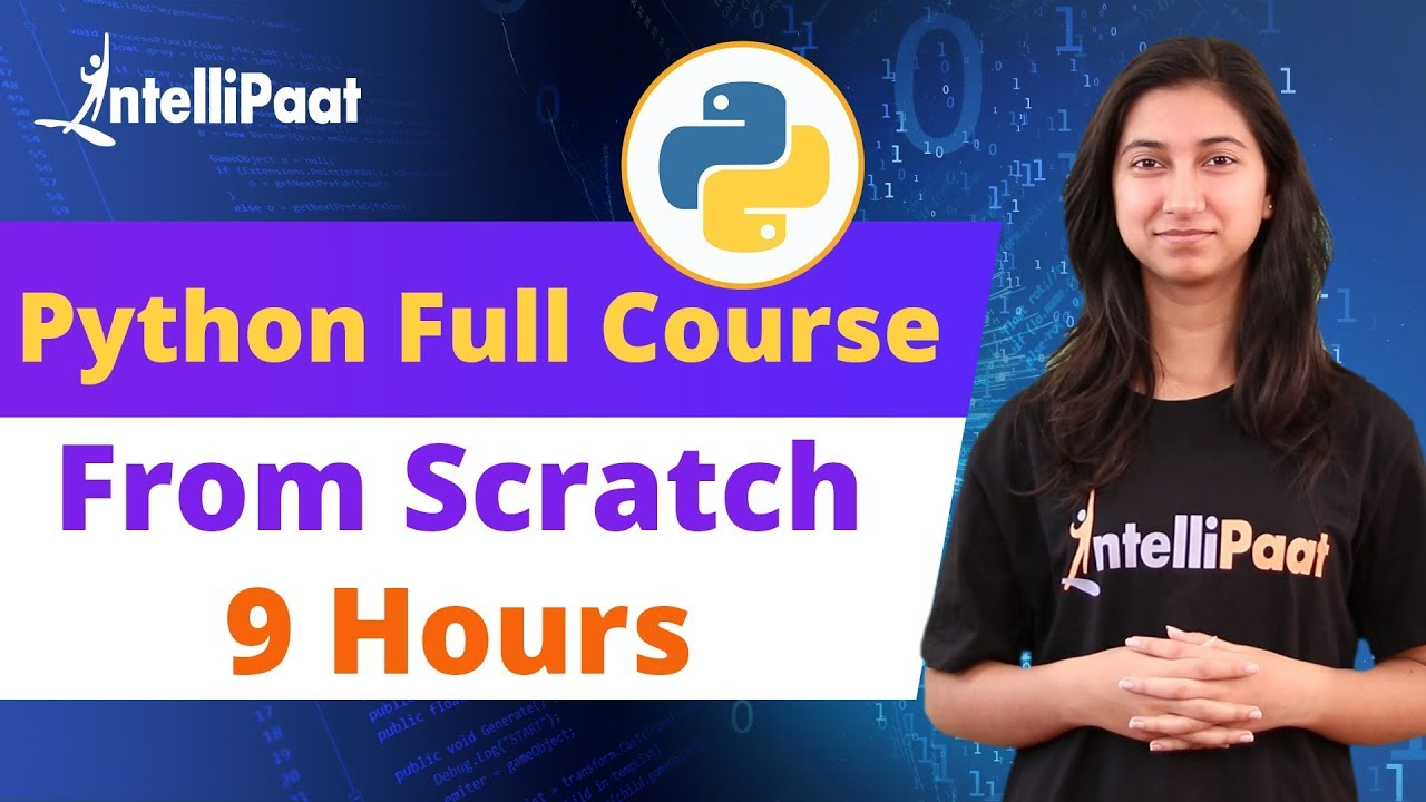 Python Course | Python Tutorial for Beginners | Intellipaat