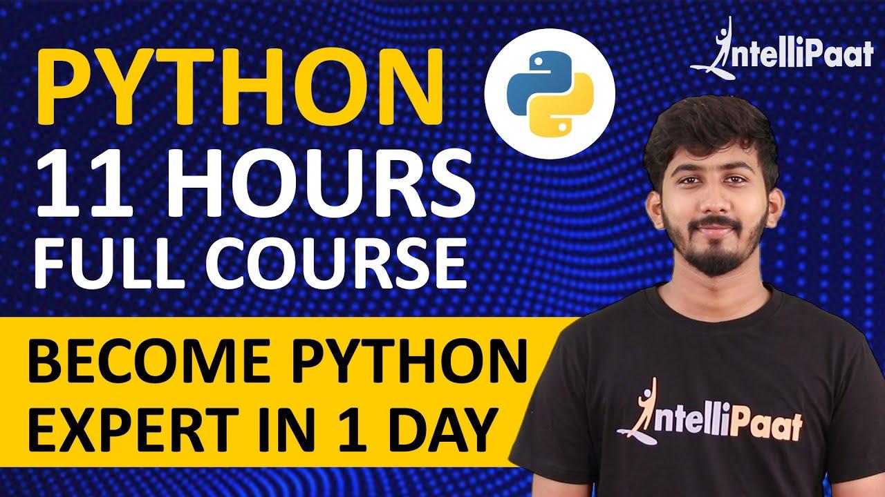 Python Tutorial | Python Course | Intellipaat
