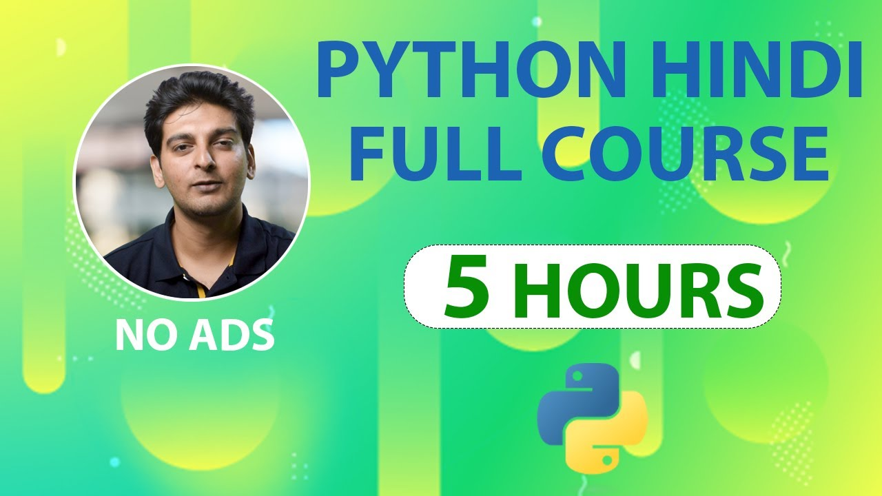 Python Tutorial in Hindi | Learn Python in Hindi | Python Full Course in Hindi | Python Tutorial