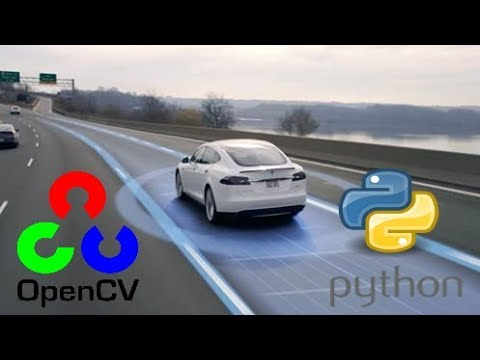 OpenCV Python Tutorial – Find Lanes for Self-Driving Cars  (Computer Vision Basics Tutorial)