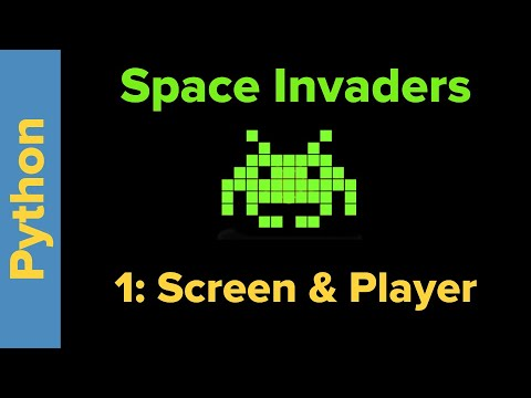 Python Game Programming Tutorial: Space Invaders 1