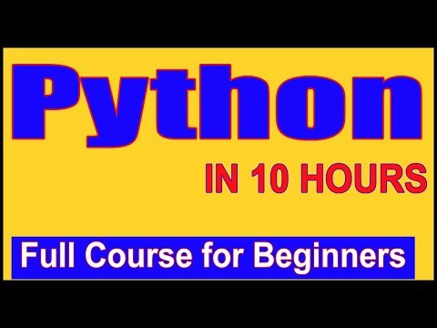 Learn Python – Full Fundamental Course for Beginners | Python Tutorial for Beginners [2019]