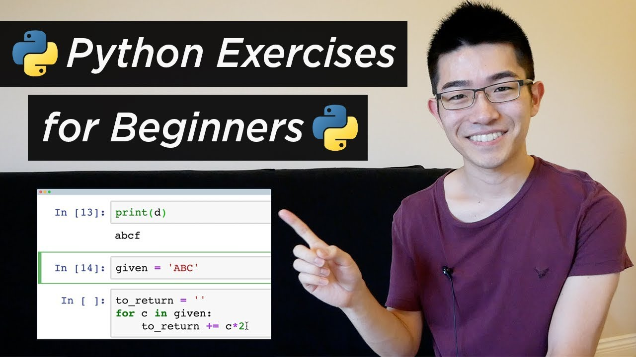 6 Python Exercise Problems for Beginners – from CodingBat (Python Tutorial #14)