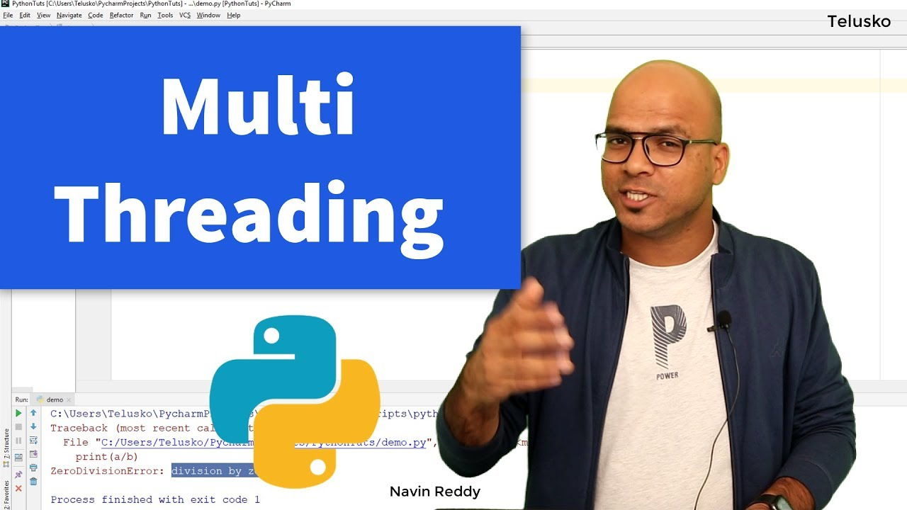 #64 Python Tutorial for Beginners | MultiThreading
