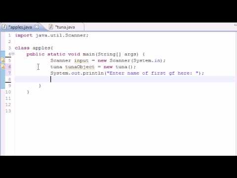 Java Programming Tutorial – 16 – Many Methods and Instances